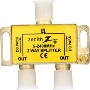 Premium 2-Way 2.4 GHz Coaxial Splitter