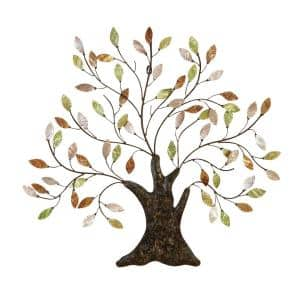 Iron Multicolored Tree of Life Metal Work