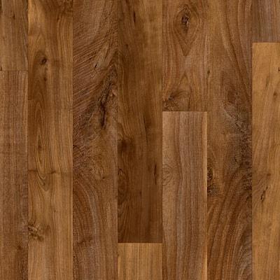 Sawyer Brown Wood Residential Vinyl Sheet Flooring 13.2ft. Wide x Cut to Length