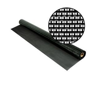 36 in. x 25 ft. Black SunTex 80