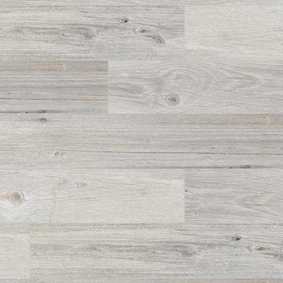 Vancouver White 8 in. x 26 in. Glazed Porcelain Antislip Floor Tile (12.92 sq. ft./case)