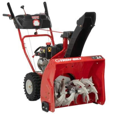 Storm 24 in. 208 cc Two- Stage Gas Snow Blower with Electric Start Self Propelled