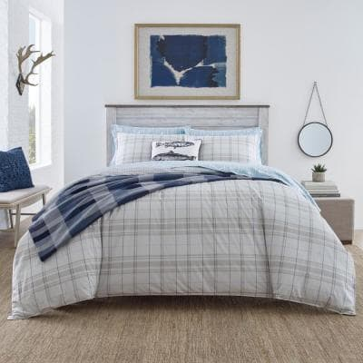 Windsor Stripe Cotton Blanket