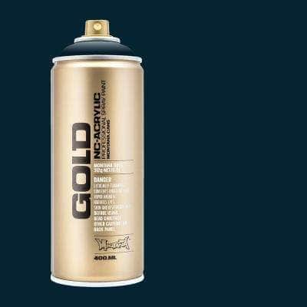 11 oz. GOLD Spray Paint, Navy