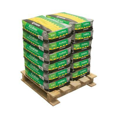 FlexBond 50 lb. Gray Fortified Thinset Mortar (12 Bags / Pallet)