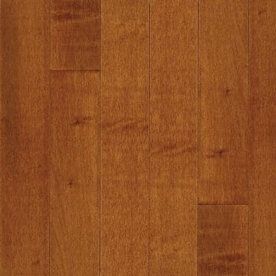 American Originals Warmed Spice Maple 3/4 in. T x 5 in. W x Varying L Solid Hardwood Flooring (23.5 sq. ft. /case)