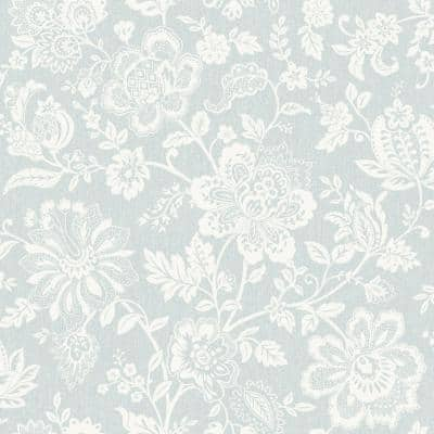 Floral Trail Vinyl Strippable Wallpaper (Covers 56 sq. ft.)