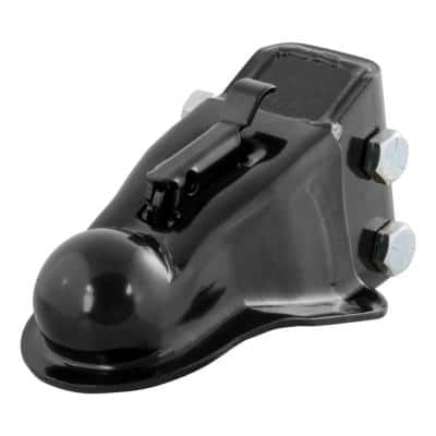 """2-5/16"""" Channel-Mount Coupler with Easy-Lock (14,000 lbs., Black)"""