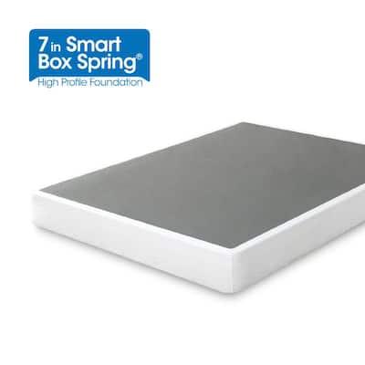 Metal Queen 7 in. Smart Box Spring