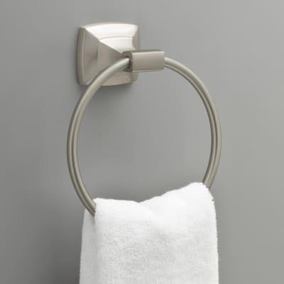 Portwood Towel Ring in SpotShield Brushed Nickel