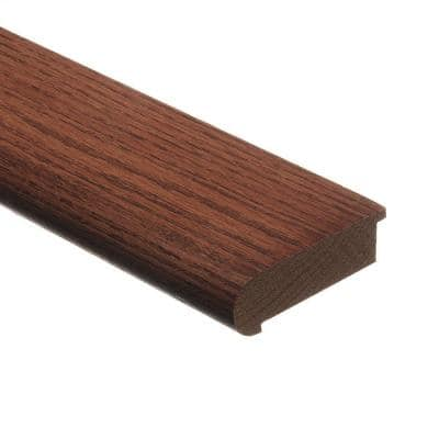 Oak Fall Classic 3/4 in. Thick x 2-3/4 in. Wide x 94 in. Length Hardwood Stair Nose Molding Flush