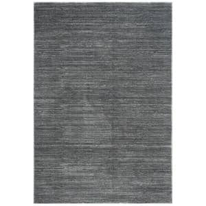 Vision Gray 9 ft. x 12 ft. Solid Area Rug