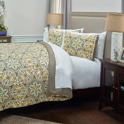 Gray Comforter Set