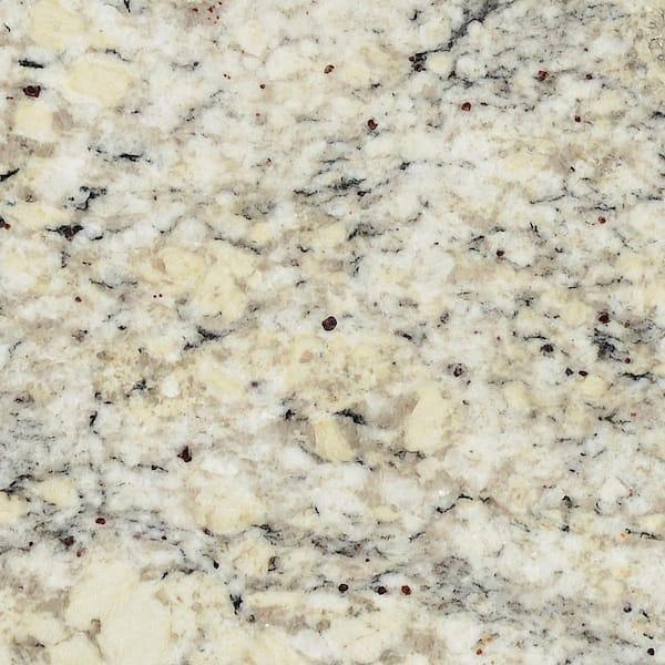 Stonemark 3 In X 3 In Granite Countertop Sample In White Ice P Rsl Whtice 3x3 The Home Depot