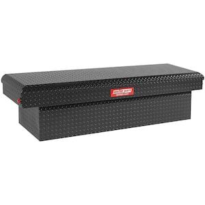 71.38 in. Matte Black Aluminum Full Size Crossbed Truck Tool Box