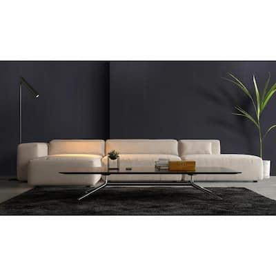 Council Black 2.76 in. x 11.81 in. Matte Porcelain Single Bullnose Tile-Each