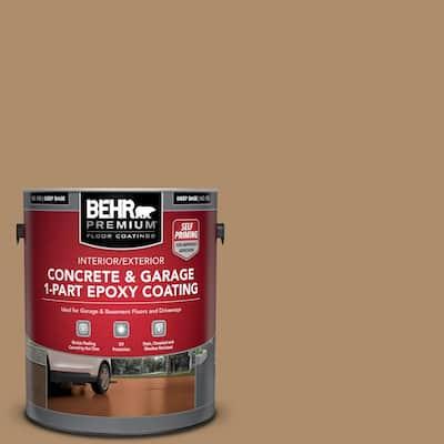1 gal. #N270-5 River Road Self-Priming 1-Part Epoxy Satin Interior/Exterior Concrete and Garage Floor Paint