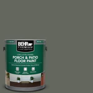 1 gal. #710F-6 Painted Turtle Low-Lustre Enamel Interior/Exterior Porch and Patio Floor Paint