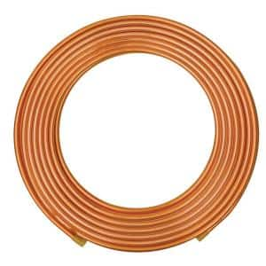 3/8 in. x 50 ft. Soft Copper Refrigeration Coil Tubing