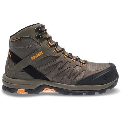 "Men's Fletcher Waterproof 6"" Hiker CarbonMax - Composite Toe - Taupe Size 10(M)"