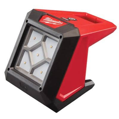 M12 12-Volt 1000 Lumens Lithium-Ion Cordless Rover LED Compact Flood Light (Tool-Only)