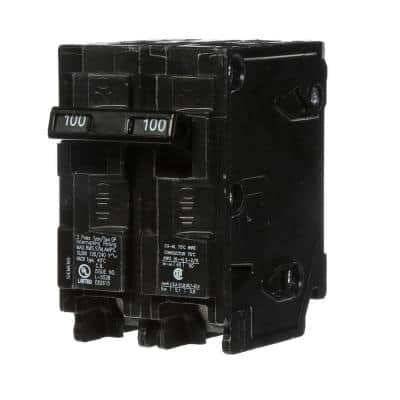 100 Amp Double-Pole Type QP Circuit Breaker