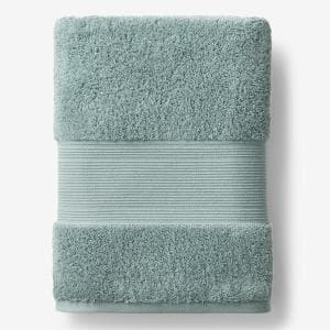 Legends Regal Spa Green Solid Egyptian Cotton Bath Sheet