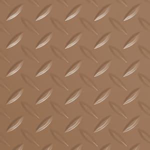 Diamond Tread 5 ft. x 10 ft. Sandstone Commercial Grade Vinyl Garage Flooring Cover and Protector
