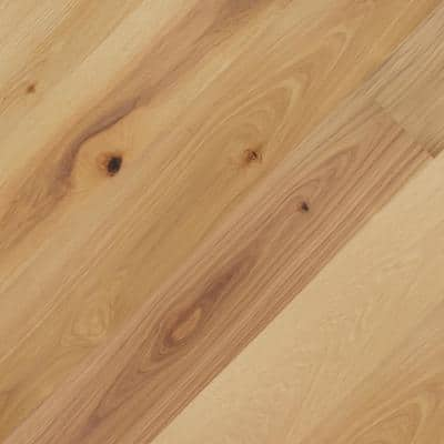 6.5 in. W x Varying Length Teton Hickory Engineered Hickory Waterproof Hardwood Flooring (21.67 sq. ft./case)