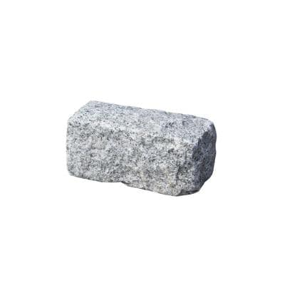 Cobblestone 9 in. x 5 in. x 5 in. Gray Granite Edging (75-Pieces/56 Linear ft./Pallet)
