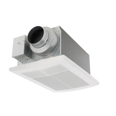 WhisperWarm DC 50-80-110 CFM Ceiling Exhaust Fan with Heater