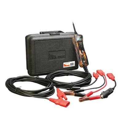 Circuit Tester with Case and Accessories - Flame Print