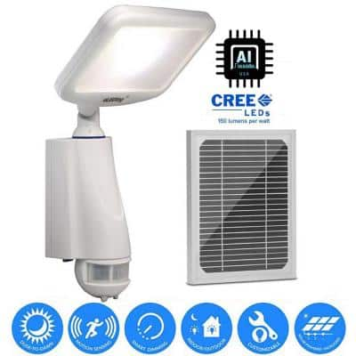 180 Degree Solar Cree LED Outdoor Smart True Dusk to Dawn Security/Safety/Flood/Spot/Patio/Yard Light