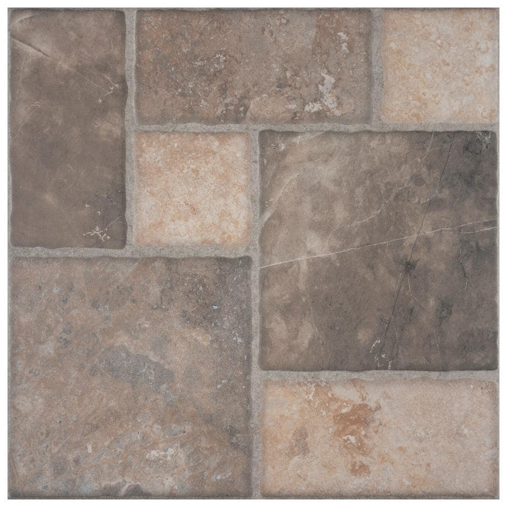 Merola Tile Figueres Magma 17 3 4 In X 17 3 4 In Ceramic Floor And Wall Tile 18 Sq Ft Case Fhn18fmg The Home Depot
