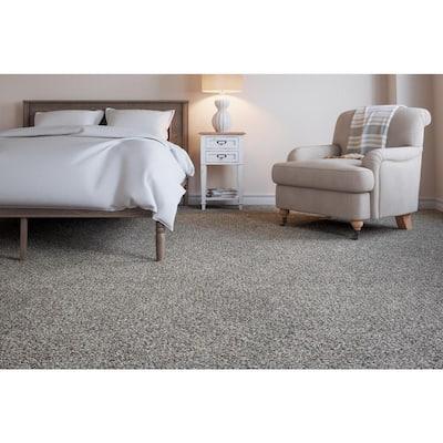 Soft Breath I - Color Cayman Texture 12 ft. Carpet