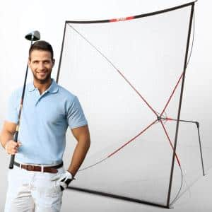 Net Playz 10 ft. Golf Practice Auto Return Net