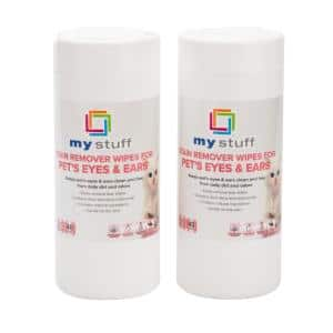 40-Count Pet Eye and Ear Cleaning Wipes (2-Pack)