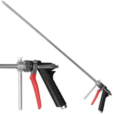 28 in. Irrigation Rod Attachment with Handle Press for Backpack Sprayer Tree Root Protection