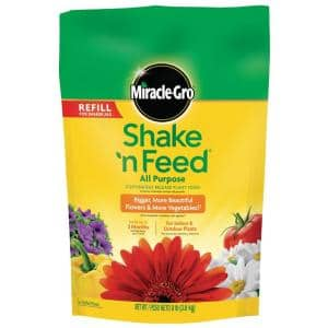 Shake 'N Feed 8 lb. All Purpose Continuous Release Plant Food Refill Bag