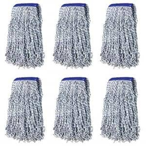 1.25 in. Universal Headband Nano Microbial Cut End Finish Mop (6-Pack)