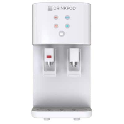2000 Series Bottleless Water Filtration Cooler with 4 Stage Filtration in White
