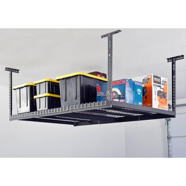 D Overhead Ceiling Mount Garage Rack, Garage Ceiling Storage Racks