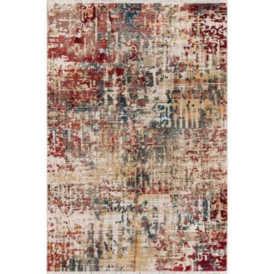 Studio Multi 9 ft. 6 in. X 12 ft. 6 in. Indoor Area Rug