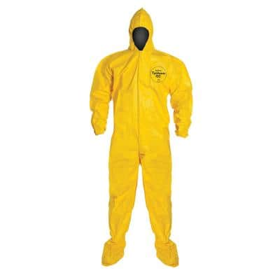DuPont Tychem XL Coverall with Hood and Boots