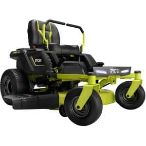 42 in. 100 Ah Battery Electric Riding Zero Turn Mower