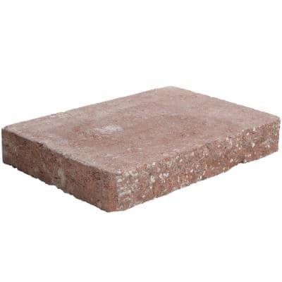 2 in. x 12 in. x 8 in. River Red Concrete Wall Cap (120 Pieces / 118.5 Linear Face ft. / Pallet)