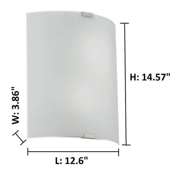 Chrome EGLO Wall Light 14 W