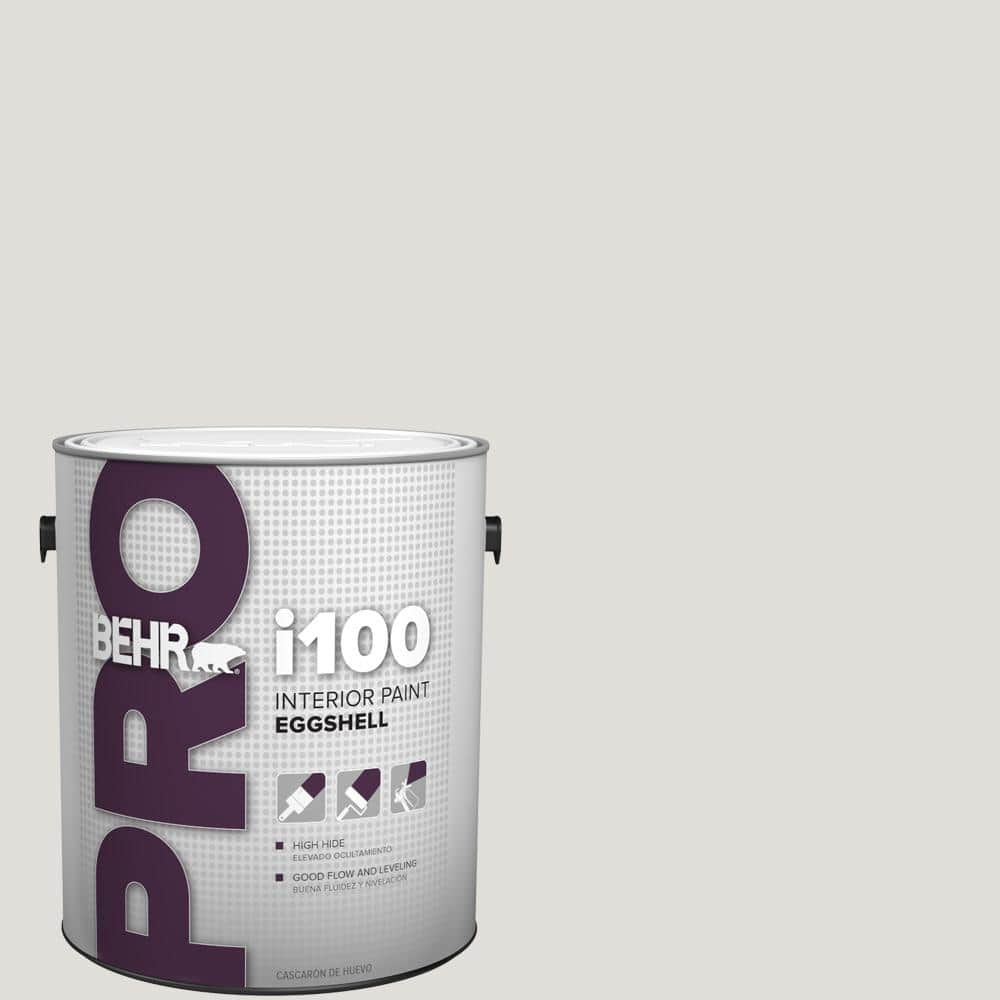 Behr Pro 1 Gal Pwn 63 Abalone Shell Eggshell Interior Paint Pr13001 The Home Depot