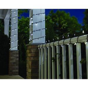 33 ft. Line Voltage 100-Light LED Smooth Mini Cool White Garden Indoor/Outdoor String Light (3-Pack)