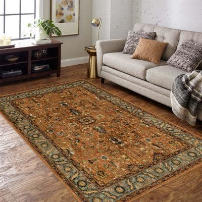 Mariah Spice 4 ft. x 6 ft. Area Rug